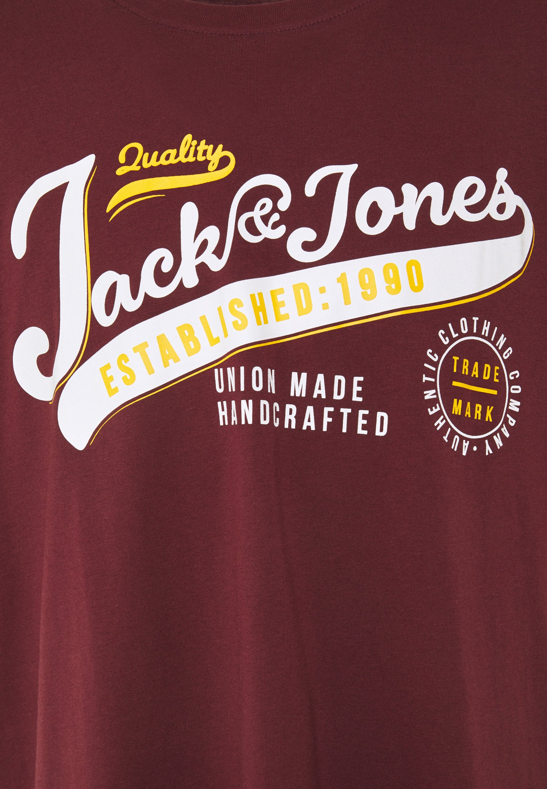 Jack & Jones JJELOGO  - Print T-shirt - port royale HRiV1