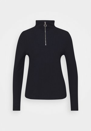 ONLNELLA HALF ZIP - Long sleeved top - night sky