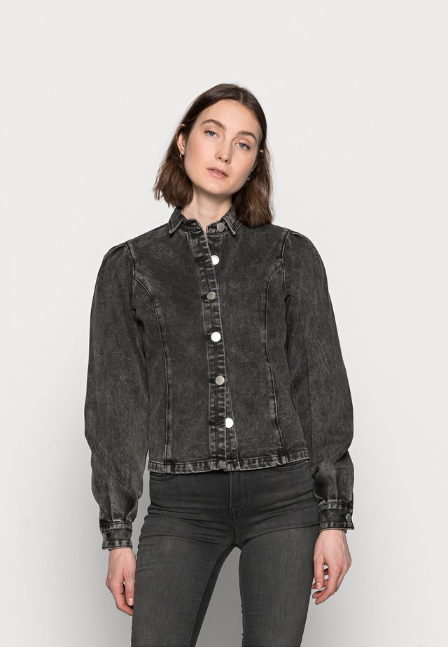 LADIES - Overhemdblouse - black acid wash