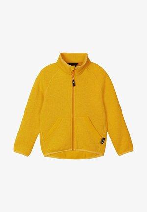 HOPPER - Fleece jacket - orange yellow