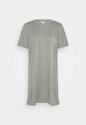 ABBIE DRESS - Jerseykjoler - khaki green/medium dusty