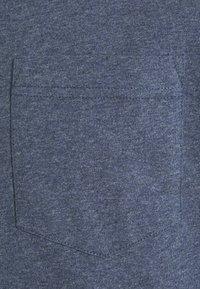 GANT - LOCKER LOOP POCKET - T-shirt - bas - indigoblue melange - 6