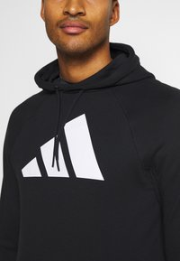 adidas Performance - HOOD - Hoodie - black - 4
