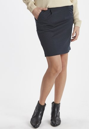 IHKATE SPOT  - Pencil skirt - total eclipse