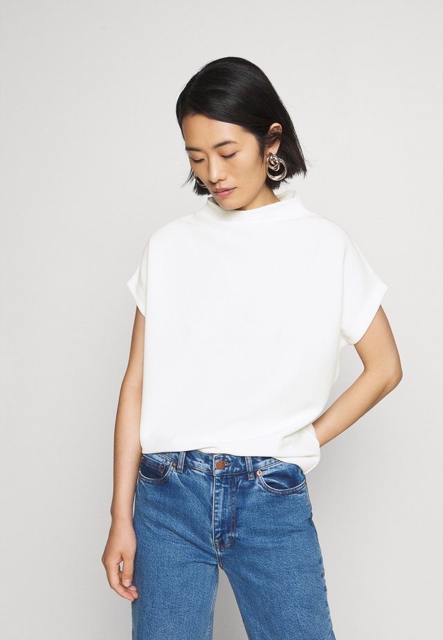 KITTUA TEXTURE - T-shirt basic - milk