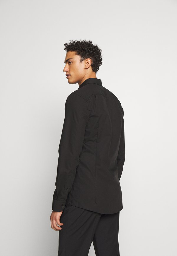 HUGO ELISHA - Koszula biznesowa - black/czarny Odzież Męska UIHV