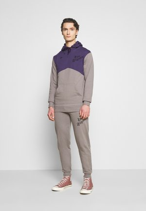 ROMER TRACKSUIT SET - Tracksuit - grey/purple