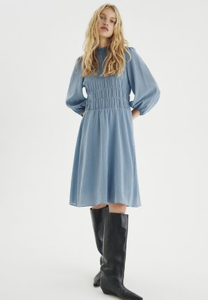 Day dress - bleached blue