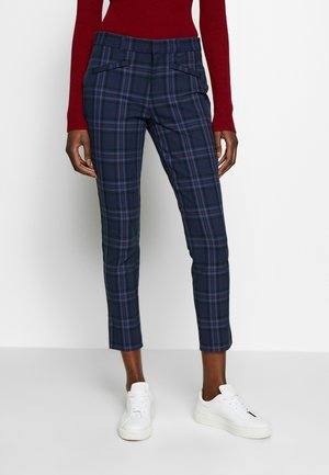 SKINNY ANKLE - Trousers - blue combo