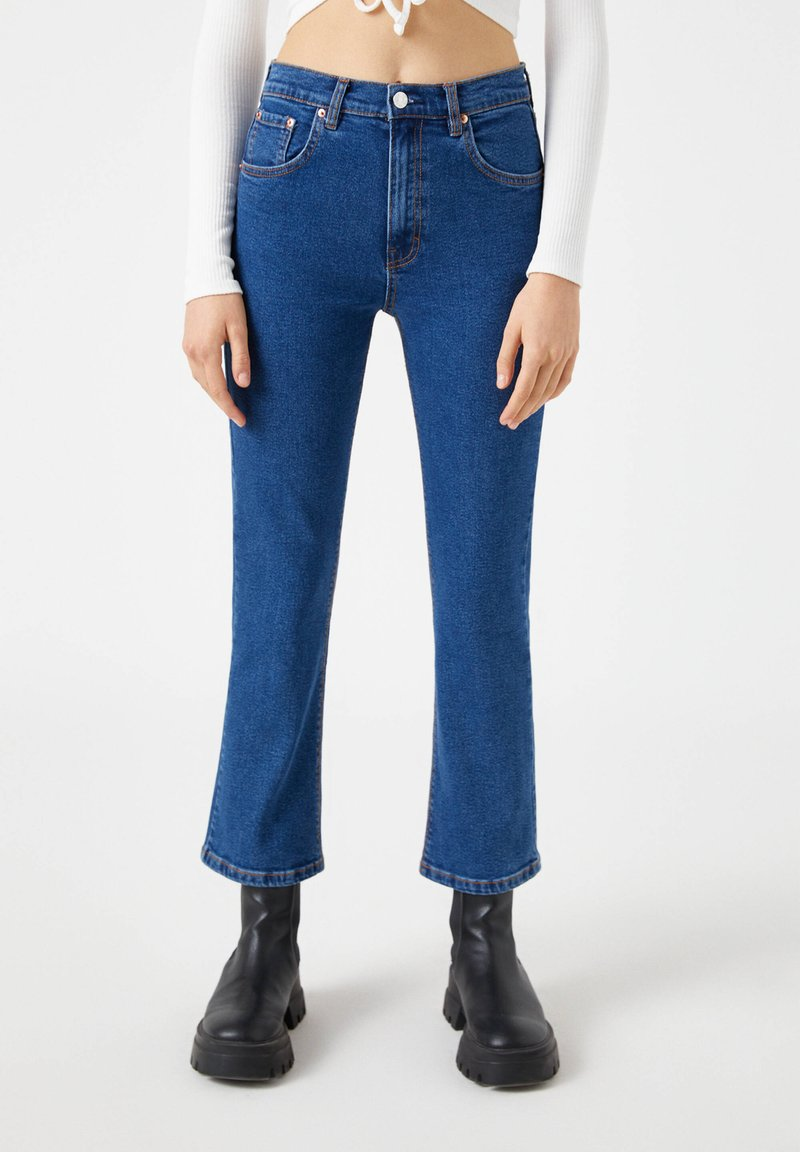 PULL&BEAR - Jean flare - blue