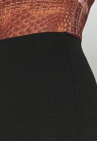 Monki - DARIA SKIRT - Mini skirt - black - 4