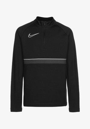 ACADEMY DRIL UNISEX - Sports shirt - black / white / anthracite