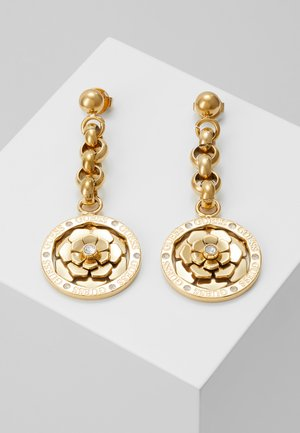 PEONY - Earrings - gold-coloured