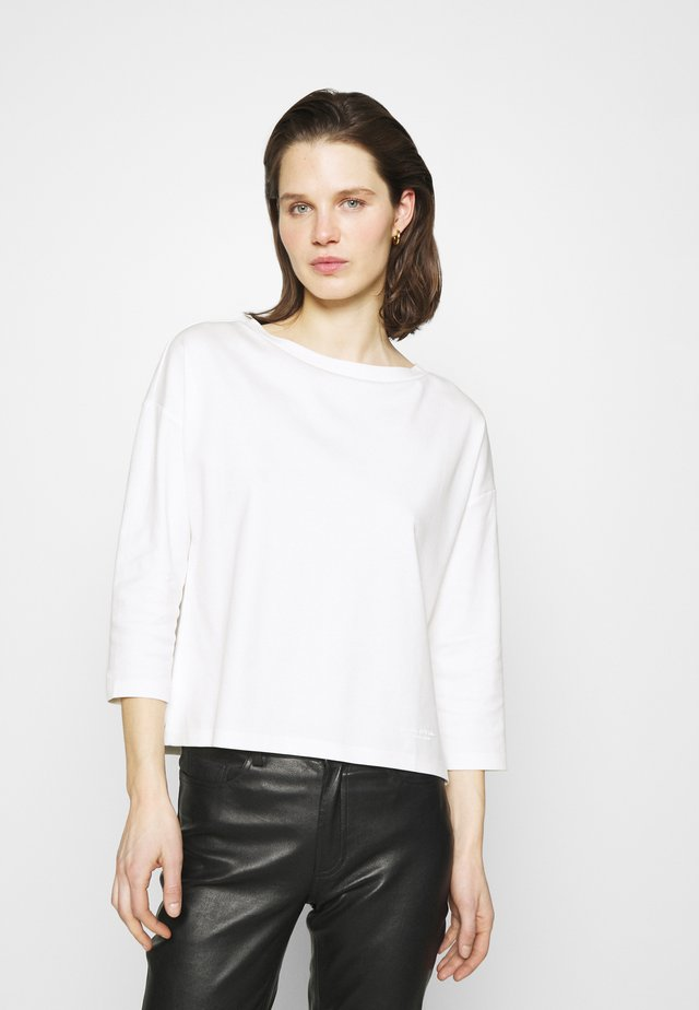 LONG SLEEVE - Camiseta de manga larga - paper white