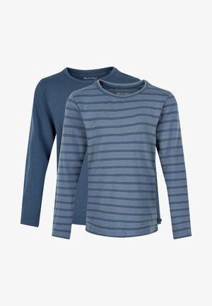 2 PACK - Long sleeved top - new navy