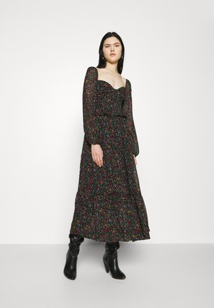 BOROGODO MAXI DRESS - Day dress - black/multi-coloured
