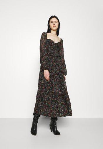 BOROGODO MAXI DRESS - Vestito estivo - black/multi-coloured