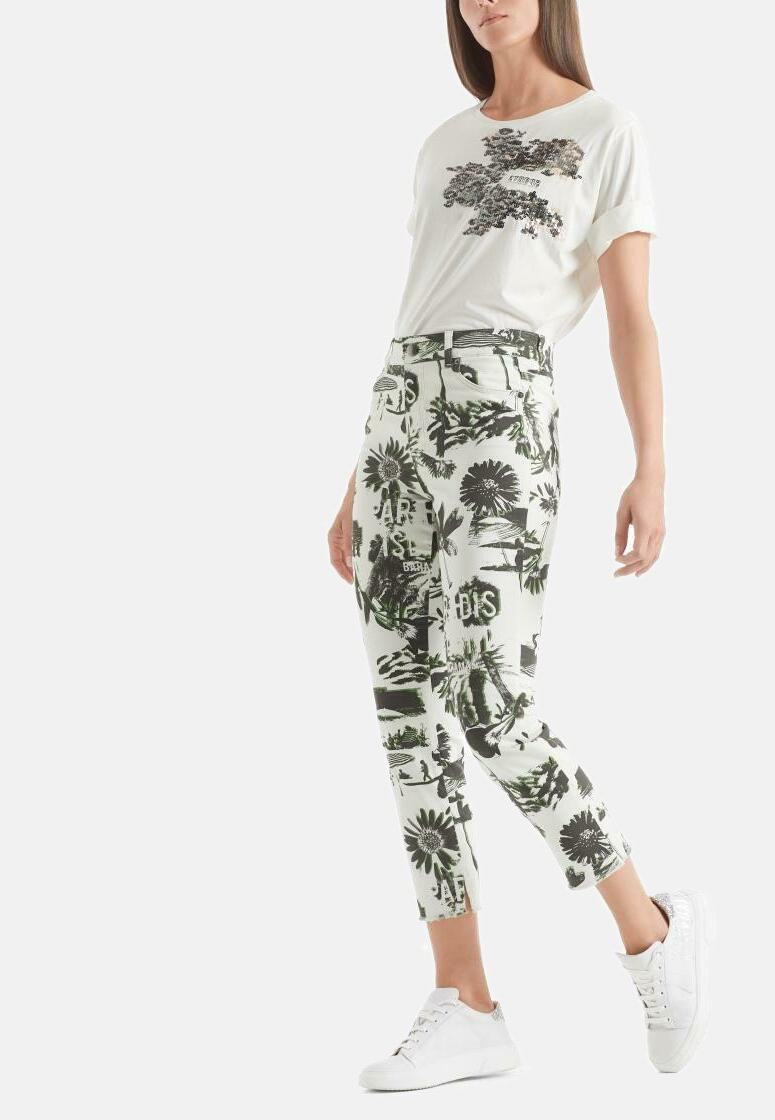 Marc Cain - Slim fit jeans - off-white