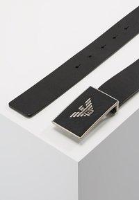 Emporio Armani - CINTURA - Belt - black - 2