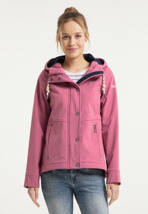 Waterproof jacket - sorbetrot