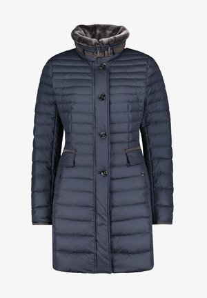 Down coat - dunkelblau