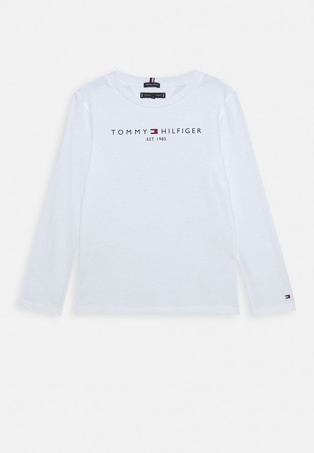 ESSENTIAL TEE - Long sleeved top - white