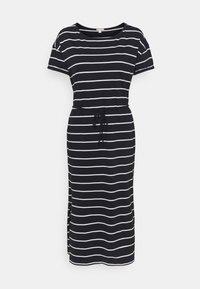 edc by Esprit - CRISPY DRESS - Jersey dress - navy - 0