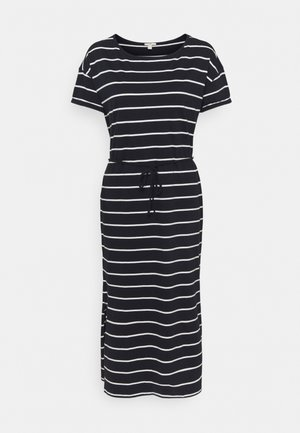 CRISPY DRESS - Jersey dress - navy