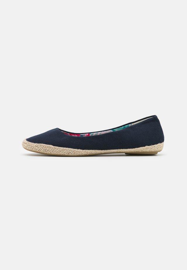 Loafers - dark blue