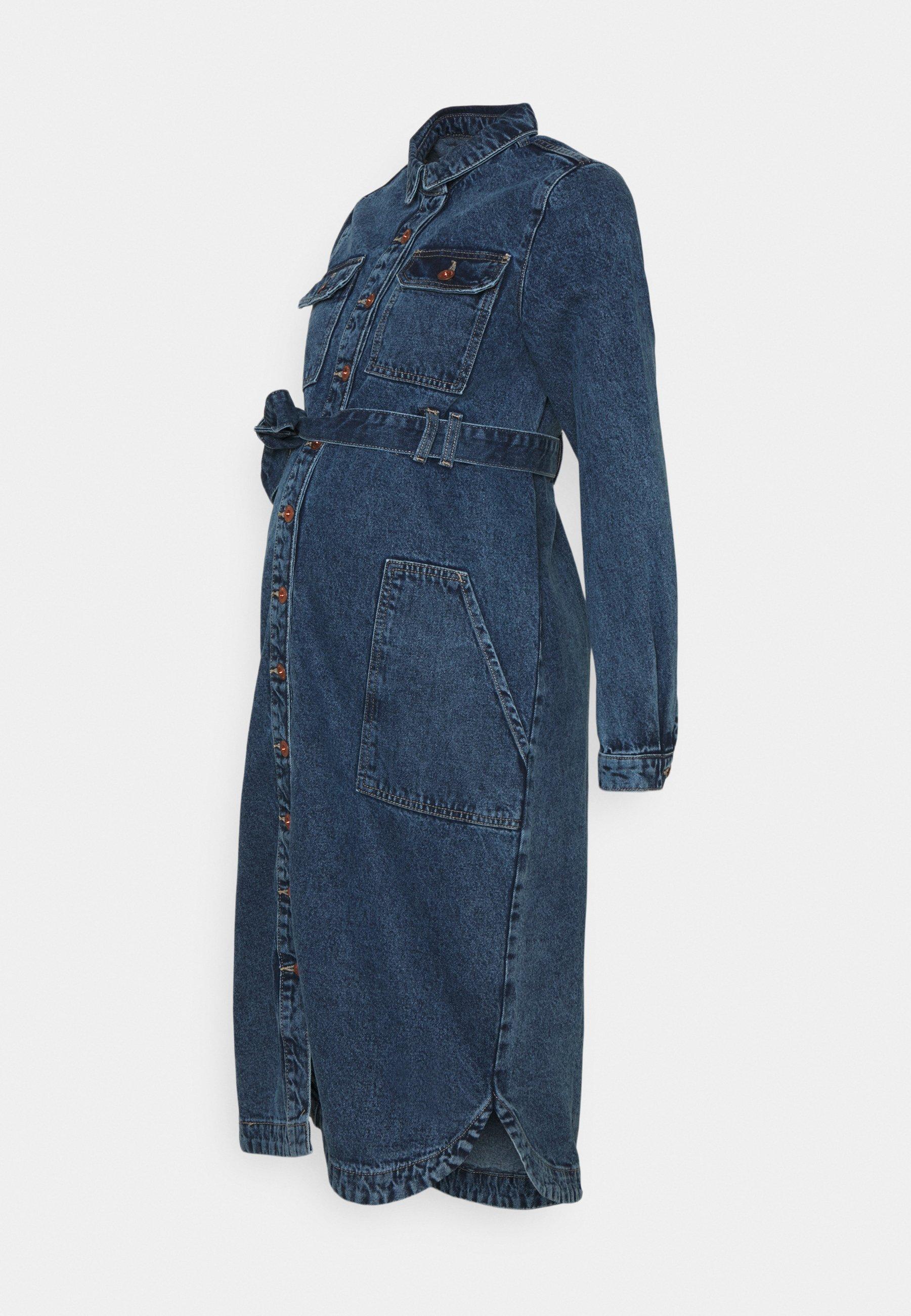 Women PCMGAMIR - Denim dress