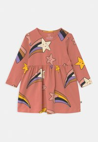 Lindex - SHOOTING STARS - Jersey dress - dusty coral - 1