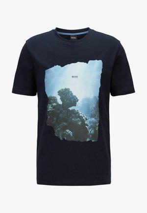 NOAH - T-shirt imprimé - dark blue