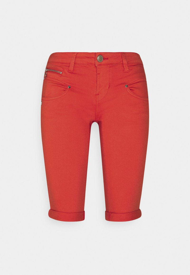 Freeman T. Porter - BELIXA NEW MAGIC COLOR - Denim shorts - fiesta