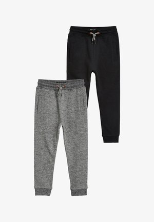 2 PACK  - Spodnie treningowe - black