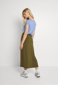 Even&Odd - Maxi skirt - khaki - 2