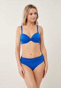 Next - SHAPE ENHANCING  - Bikini top - blue - 0