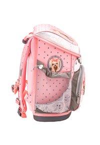 Belmil - SET - School bag - mottled light grey - 3