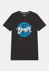 Bench - AMBERLAND - Print T-shirt - black - 0