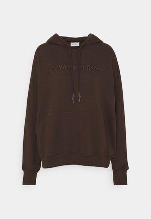 SIBEL - Sweatshirt - dark mahogany