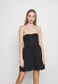 Fashion Union - TEASE DRESS - Cocktail dress / Party dress - black - 0