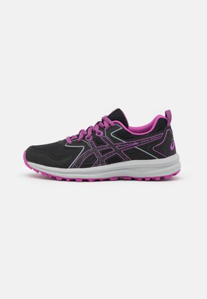 SCOUT - Trail running shoes - black/digital grape