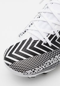 Nike Performance - MERCURIAL JR 7 ACADEMY MDS FGMG UNISEX - Moulded stud football boots - white/black - 5