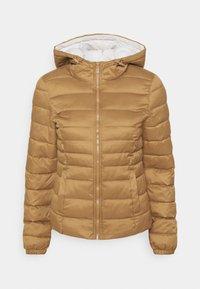 ONLY - ONLNEWTAHOE CONTRAST HOOD JACKET  - Light jacket - toasted coconut/pumice stone - 3