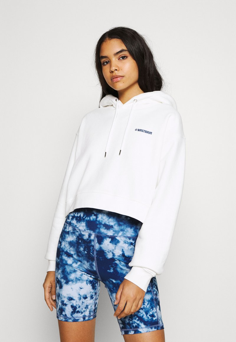 WRSTBHVR - FAITH HOODIE  - Sweatshirt - off white