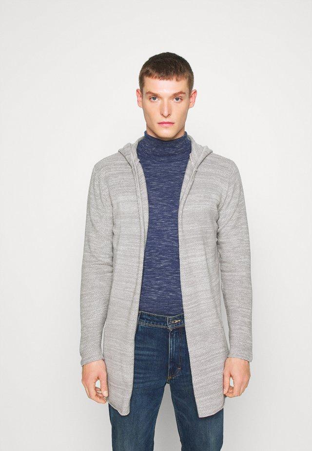 DENZEL - Kardigan - light grey