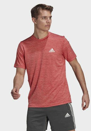 AEROREADY DESIGNED TO MOVE SPORT STRETCH T-SHIRT - T-Shirt basic - red