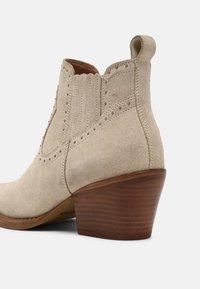 Bronx - JUKESON - Cowboy/biker ankle boot - sand - 5