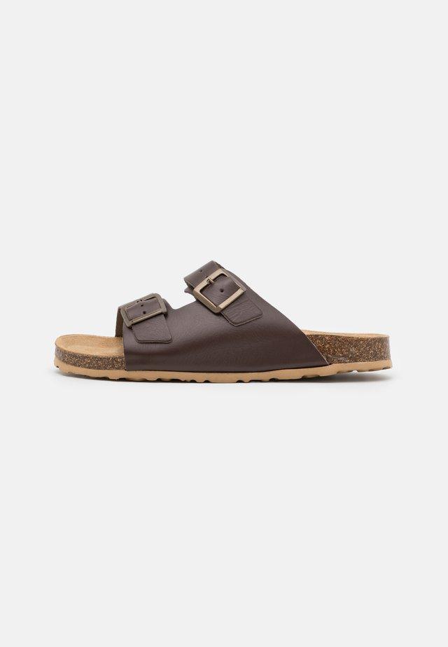 BIACEDAAR - Pantofle - brown