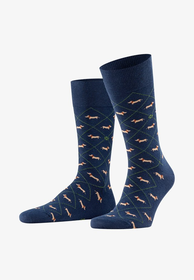 DACHSHUND - Socks - marine
