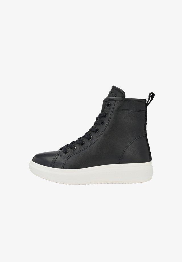 AMINA - Sneakers hoog - schwarz